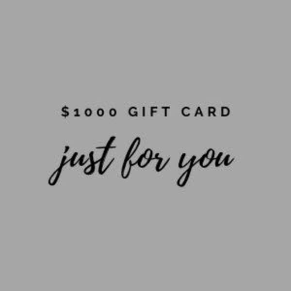 $1000 Gift Card | Terry Sauve Fine Art