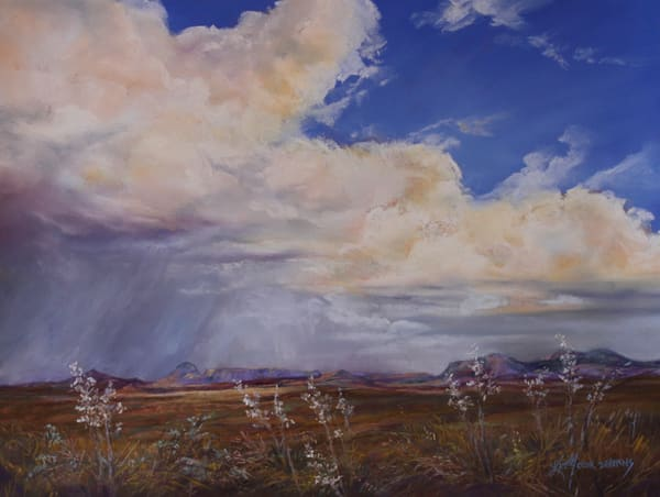 Lindy Cook Severns Art | When the Heavens Burst Open, print