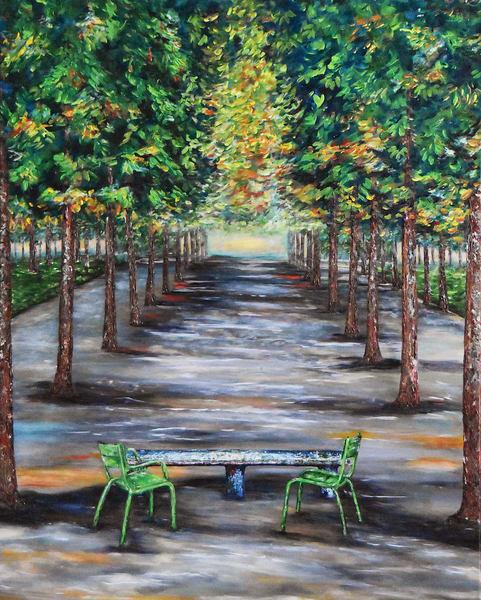 Tuileries Garden Art | Anna Kim Studio