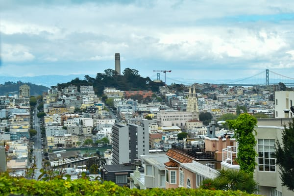 Coit Tower Art | Anna Kim Studio