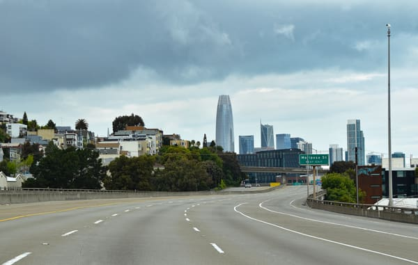 San Francisco Highway Art | Anna Kim Studio
