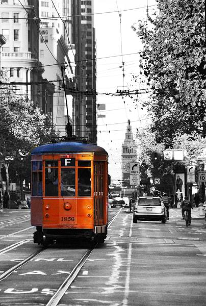San Francisco's Historic Streetcar Art   Anna Kim Studio