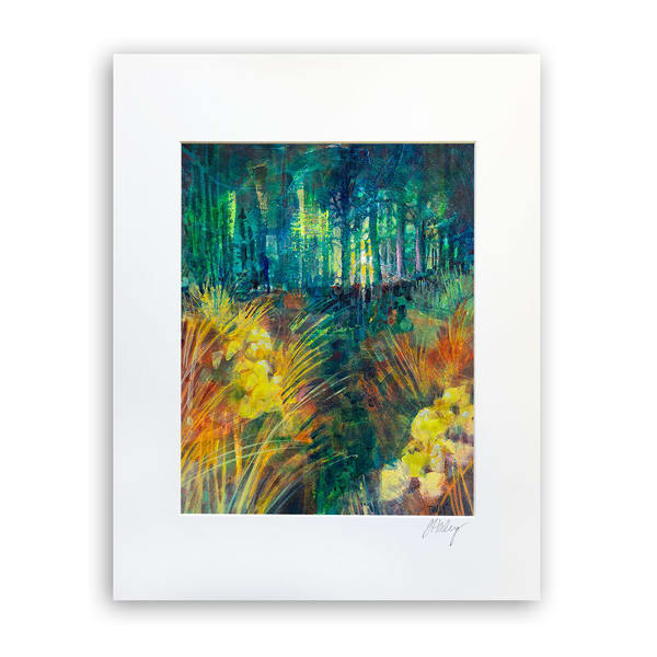 Fairy Forest   8x10 Matted Print   Terrie Haley Artist
