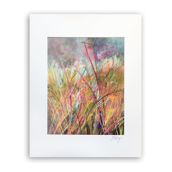 Strawberry Field   8x10 Matted Print   Terrie Haley Artist