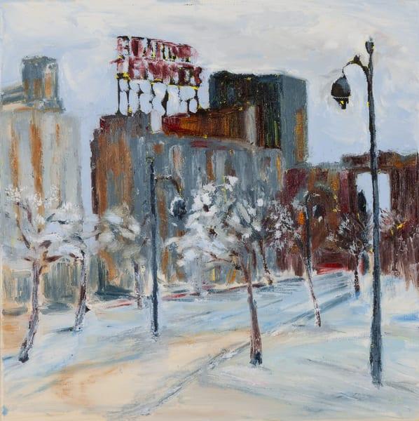December Five Roses - Original