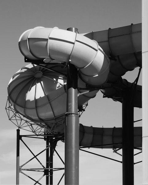 American Dream Water Slide - Tall B/W