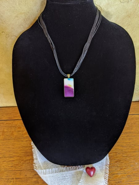 Purple Aura Art   Barbara Bell Fine Art