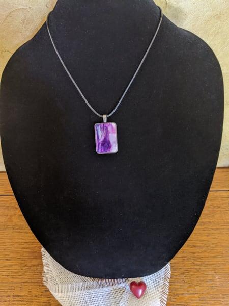 Reflections Of Purple Art   Barbara Bell Fine Art
