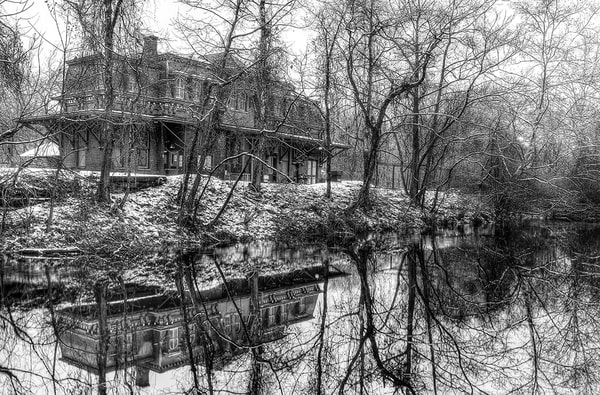 Winter Reflections on the Canal - Michael Sandy Photography