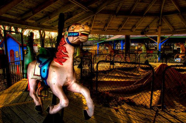 Carousel - Bushkill Park - Michael Sandy Photography