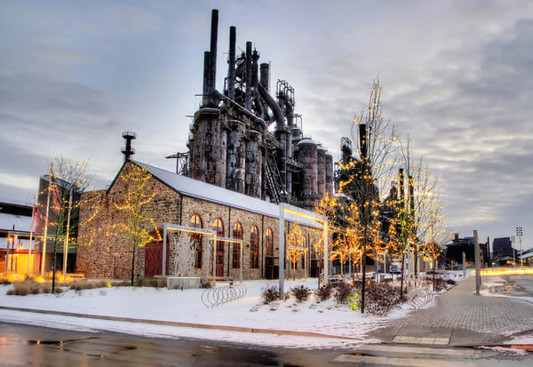 Christmas at the Stacks - Michael Sandy Photography