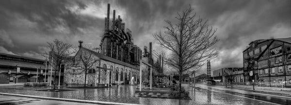 Steel Reflections 2020 (Panoramic) Art | Michael Sandy Photography
