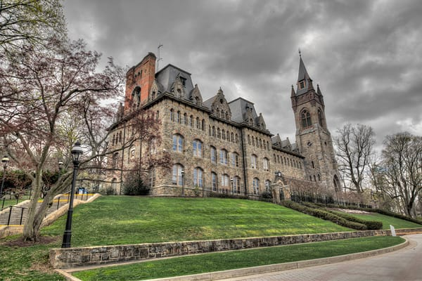 Packer Hall - Lehigh University - Michael Sandy Photography