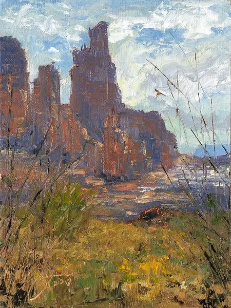 Float To Fisher Towers Art | Marian Pham Art LLC