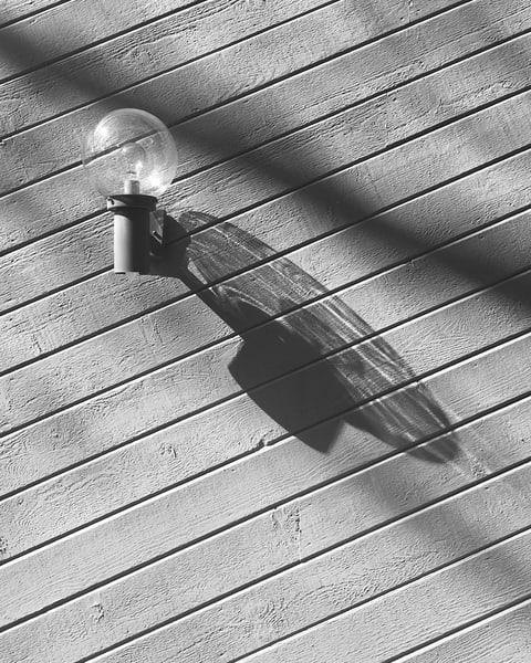 Shadow of a Globe Lamp