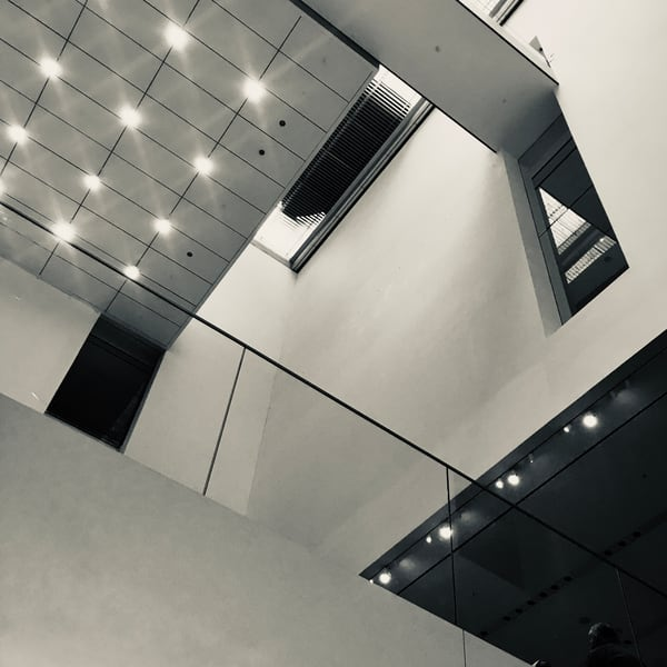 Lobby Lights at MOMA