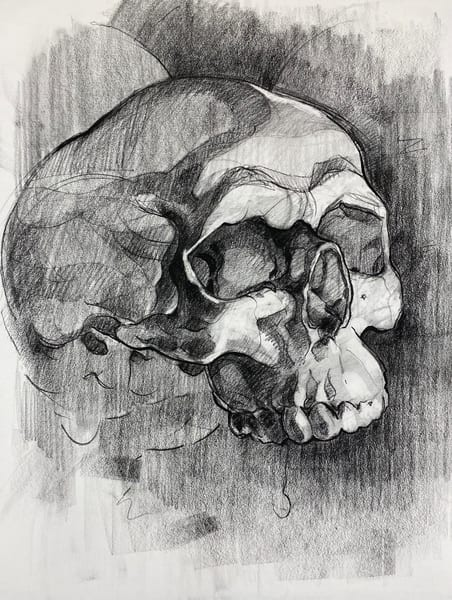 Skull V.9 Art | Matt Pierson Artworks