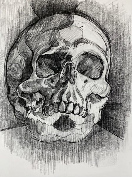 Skull V.10 Art | Matt Pierson Artworks