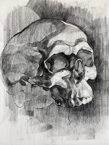 Original Artwork | Skull V.9 Art | Matt Pierson Artworks