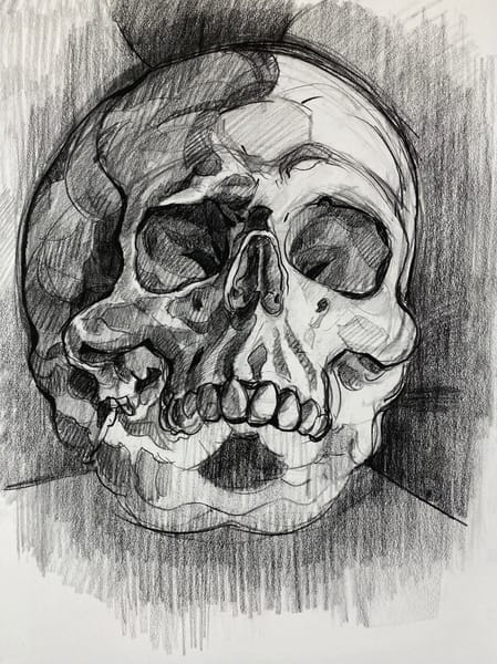 Original Artwork | Skull V.10 Art | Matt Pierson Artworks