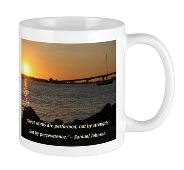 Great Works Mug | It's Your World - Enjoy!