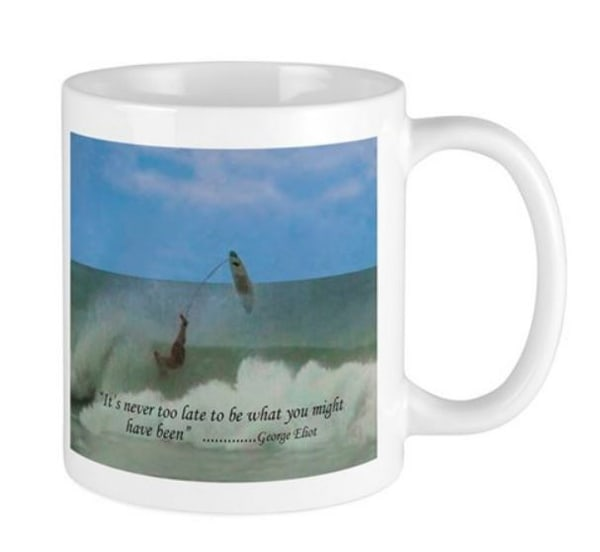 Never Too Late Mug | It's Your World - Enjoy!