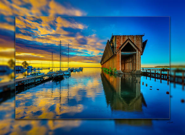 Marquette Ore Dock H 3 D Photography Art | Whispering Impressions
