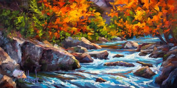 Garnet original oil painting | Sarah Pollock Studio