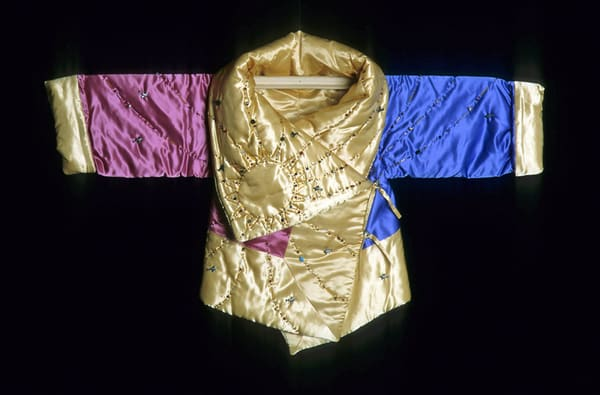 Amelia Earhart, sun beaded, jacket