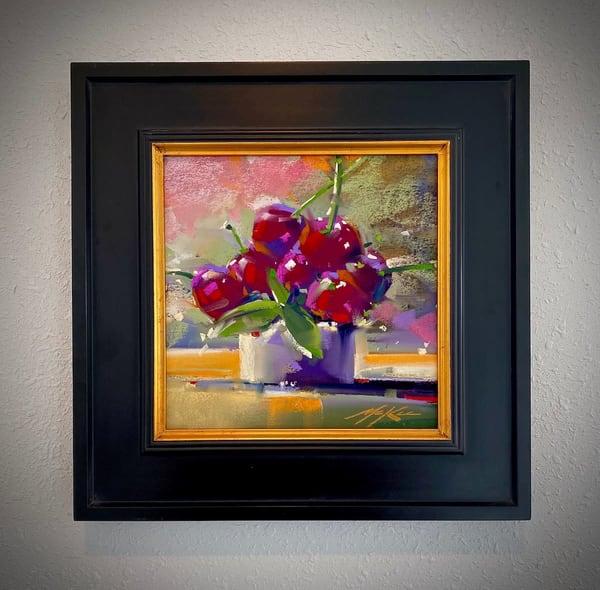 Study In Cherries Art | Michael Mckee Gallery Inc.