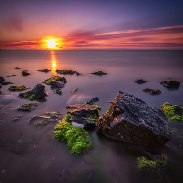Bedrock Sunrise Art   Teaga Photo