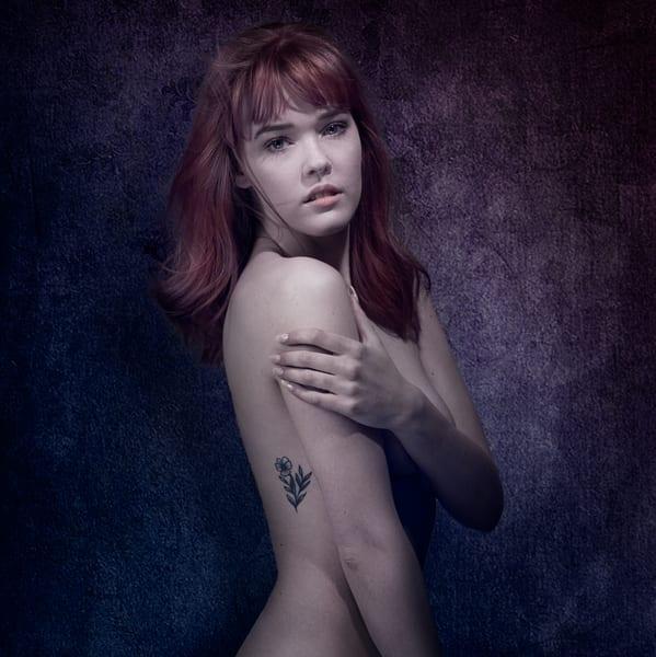 Floral Tattoo Photography Art   Dan Katz, Inc.