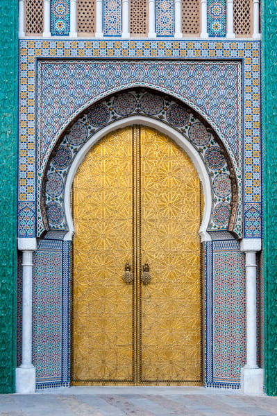 Fancy palace door