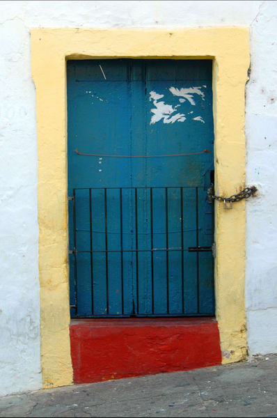 Colorful Brazilian Door