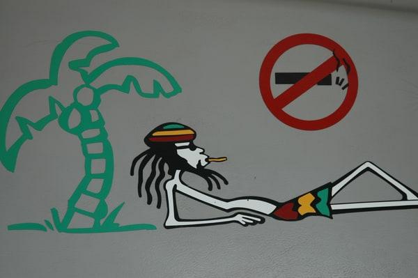 No smoking however