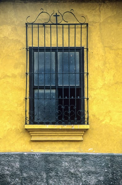 Colonial window Guatemala