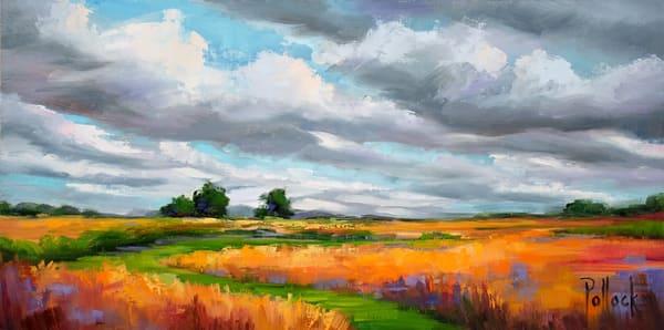 Harvest oil painting | Sarah Pollock Studio