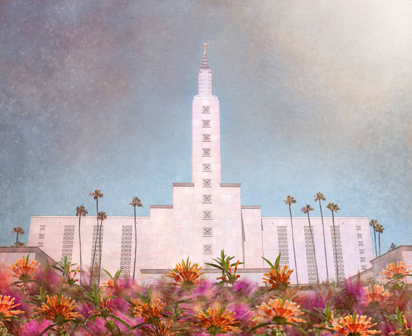 Los Angeles California Temple - Bright and Beautiful