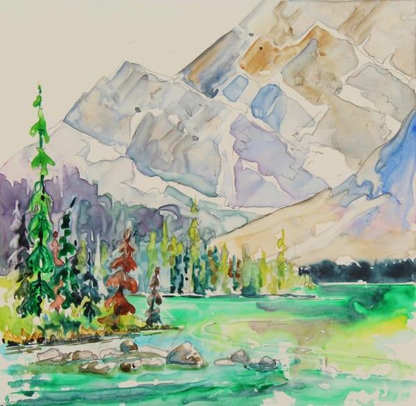 Teardrop Lake  | Karen Bishop Artist
