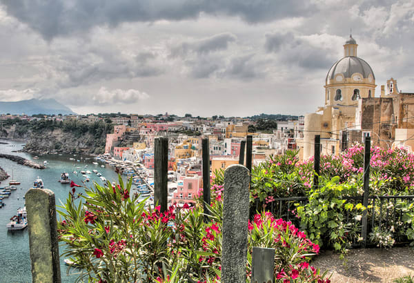 Village of Corricella - Procida, Italy - Michael Sandy Photography