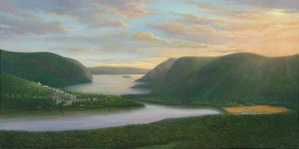 *Sunrise Over West Point And Constitution Marsh Art | Tarryl Fine Art