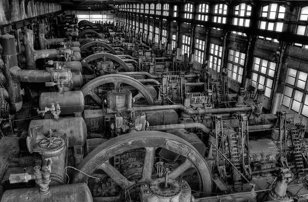 Bethlehem Steel Blower House - Michael Sandy Photography