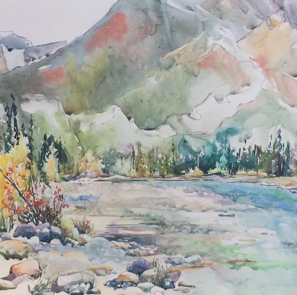 Snaring River | Karen Bishop Artist