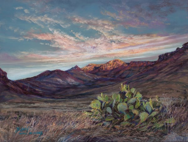 Lindy Cook Severns Art | Beginnings, original pastel