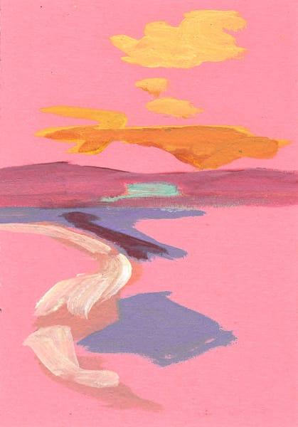 Ilhabela Praia Feiticeira: Pink Art | RPAC Gallery