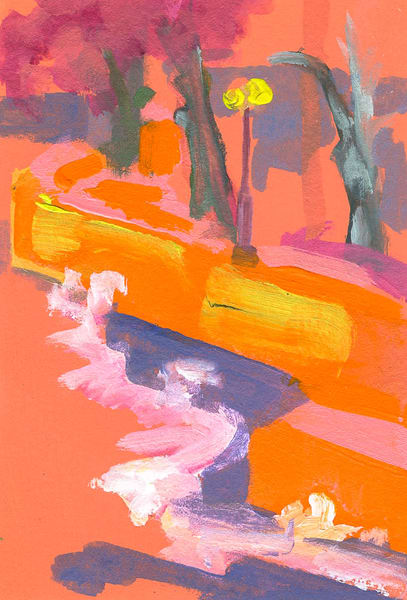 Praia Pereque Orange Art | RPAC Gallery