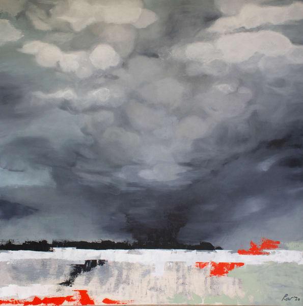 Original painting of a storm