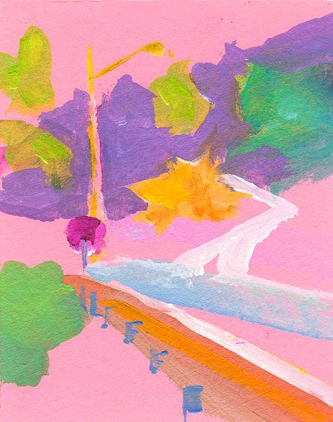 Pink Grocery Walk Art | RPAC Gallery