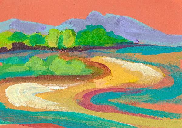 Orange Sky Clearing Art | RPAC Gallery