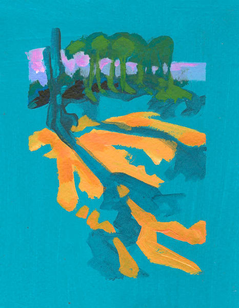Praia Feiticeira: Blue Trees Art | RPAC Gallery